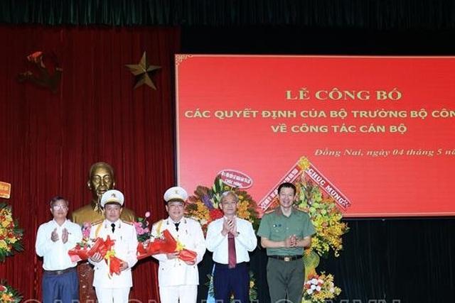 Công an tỉnh Đồng Nai có thêm 2 phó giám đốc - 1