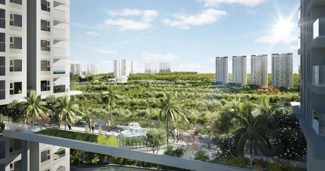 Cận cảnh bể bơi giữa lưng chừng trời của  toà tháp sinh đôi đẳng cấp nhất Ecopark - 6