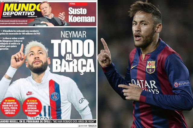 Neymar sẵn sàng hy sinh núi tiền để tái ngộ Messi - 2