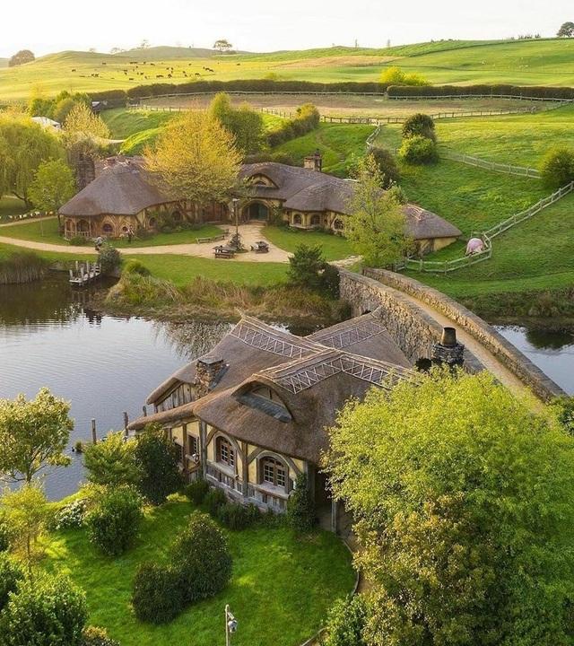 Ngôi làng sống xanh dành cho người lùn đẹp như cổ tích ở New Zealand - 3