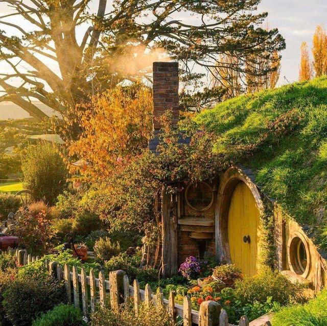 Ngôi làng sống xanh dành cho người lùn đẹp như cổ tích ở New Zealand - 4