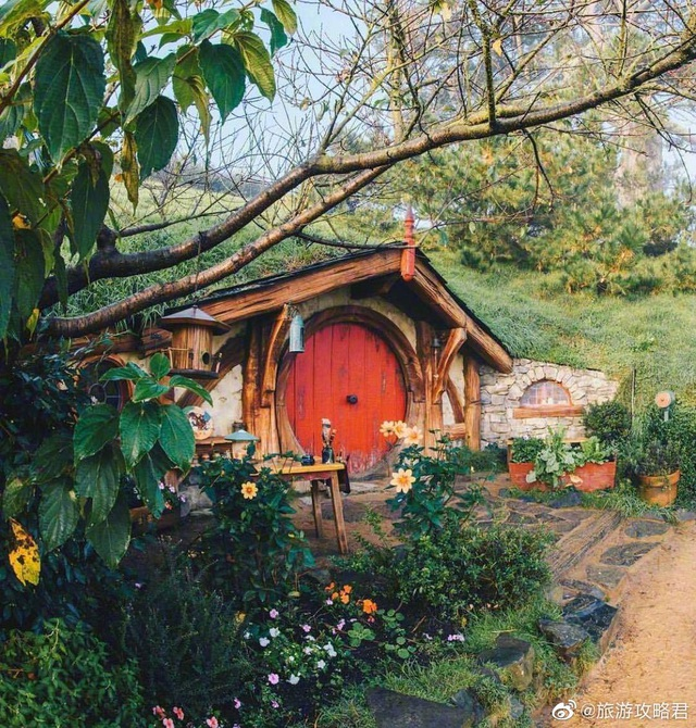 Ngôi làng sống xanh dành cho người lùn đẹp như cổ tích ở New Zealand - 6