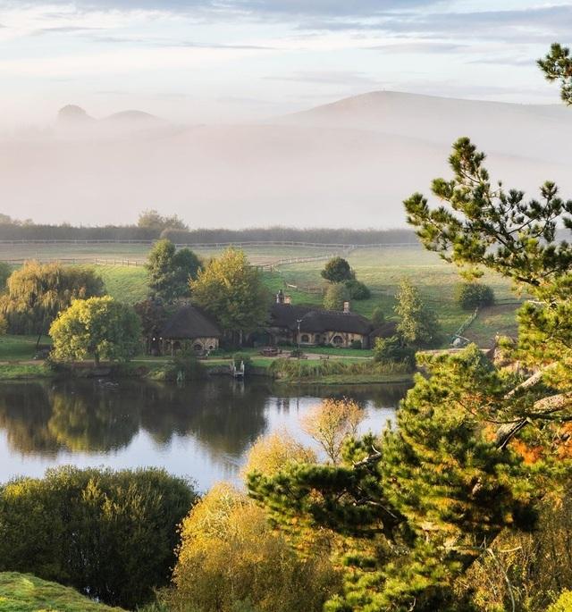 Ngôi làng sống xanh dành cho người lùn đẹp như cổ tích ở New Zealand - 9