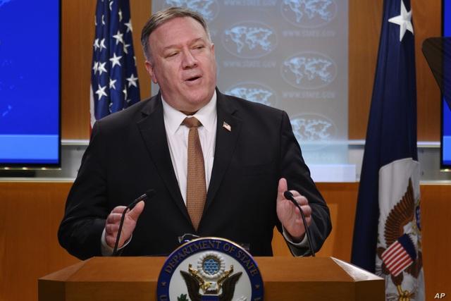 """Ngoại trưởng Mỹ: Có """"bằng chứng lớn"""" SARS-CoV-2 từ phòng thí nghiệm Vũ Hán - 1"""