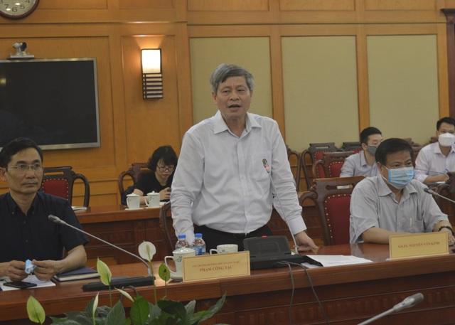 Bộ Khoa học họp bàn về nghiên cứu và sản xuất vắc xin phòng Covid-19 - 1