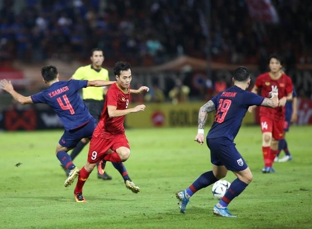 Thái Lan thu hẹp cách biệt với tuyển Việt Nam trên bảng xếp hạng FIFA - 1