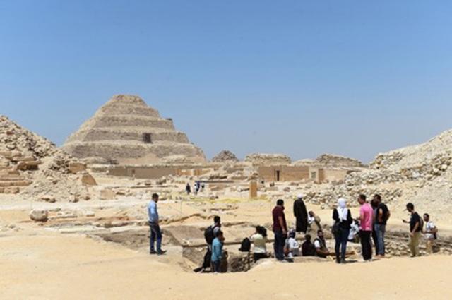 """Phát hiện """"cửa sang thế giới bên kia"""" thời Ai Cập cổ đại - 1"""