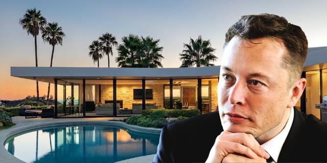 Một loạt BĐS khủng trị giá 100 triệu USD của Tỷ phú Elon Musk sắp rao bán - 1