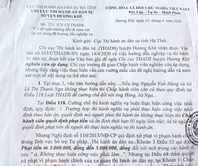 Hà Tĩnh: Bác đề nghị cù nhầy nhằm trì hoãn thi hành án trong vụ hành dân - 6