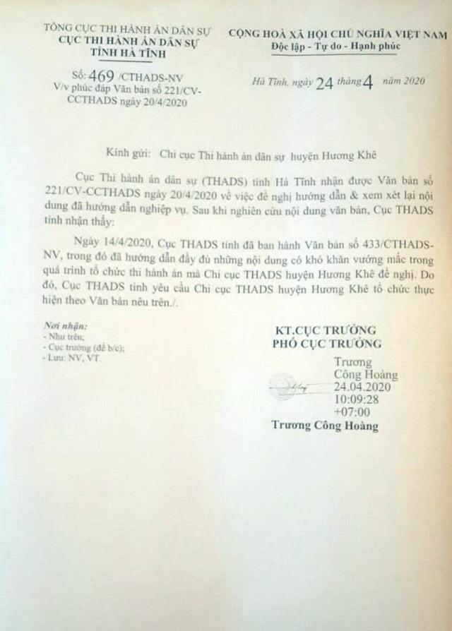 Hà Tĩnh: Bác đề nghị cù nhầy nhằm trì hoãn thi hành án trong vụ hành dân - 7