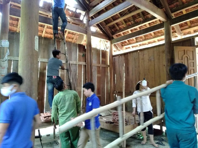Cận cảnh trận lốc xoáy càn quét bản làng xứ Nghệ - 17