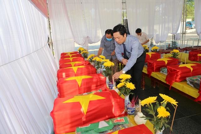 Truy điệu, an táng 16 hài cốt và 1 mộ tập thể liệt sĩ hy sinh tại Lào - 3