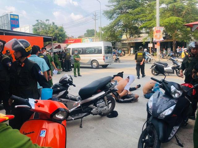 Hơn 100 cảnh sát truy bắt nhóm giang hồ thu tiền bảo kê khu vực vùng ven - 1