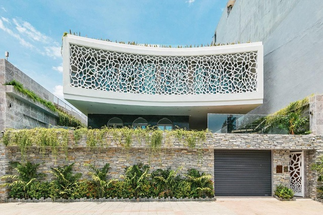 Biệt thự san hô ở Đà Nẵng nổi bật trên báo Mỹ nhờ thiết kế độc lạ - 1