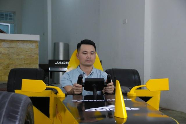 Hụt xem giải F1 tại Hà Nội, fan bỏ 50 triệu làm xe đua mô hình - 10