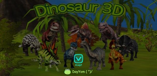 Ứng dụng giúp khám phá các loài khủng long theo phong cách 3D độc đáo - 1