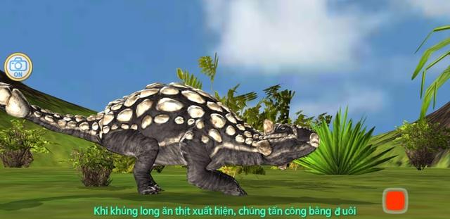 Ứng dụng giúp khám phá các loài khủng long theo phong cách 3D độc đáo - 3