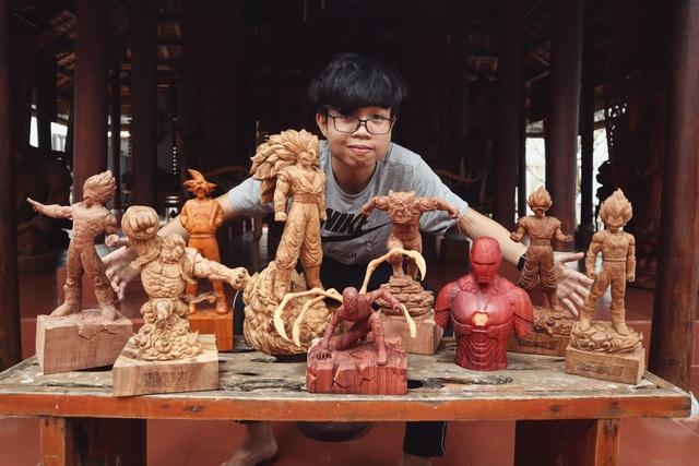 """Siêu nhân sinh ra từ gỗ: Khối """"vàng ròng"""" của 9x Quảng Nam - 1"""