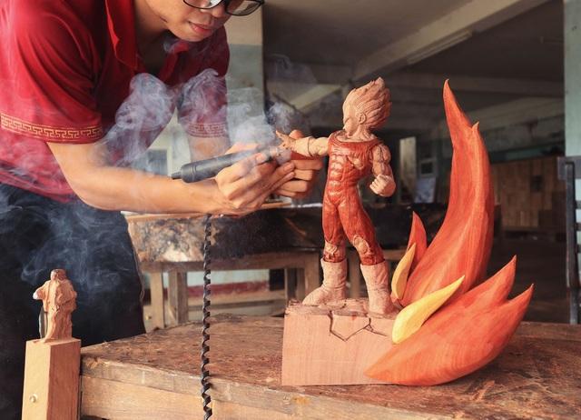 """Siêu nhân sinh ra từ gỗ: Khối """"vàng ròng"""" của 9x Quảng Nam - 11"""