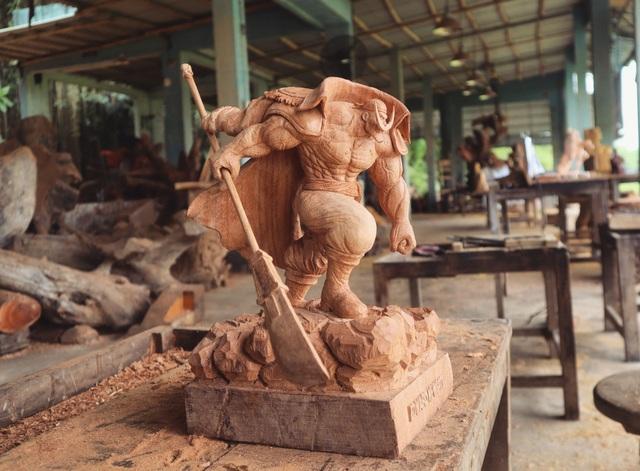 """Siêu nhân sinh ra từ gỗ: Khối """"vàng ròng"""" của 9x Quảng Nam - 9"""
