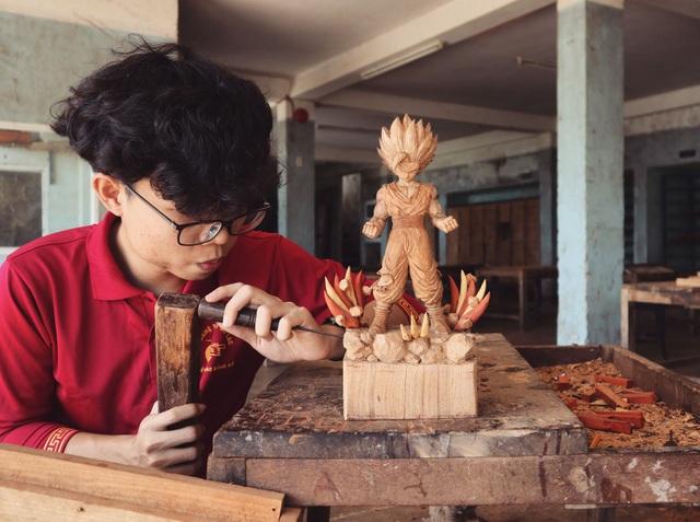 """Siêu nhân sinh ra từ gỗ: Khối """"vàng ròng"""" của 9x Quảng Nam - 2"""