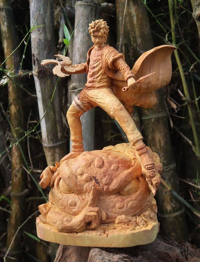 """Siêu nhân sinh ra từ gỗ: Khối """"vàng ròng"""" của 9x Quảng Nam - 14"""