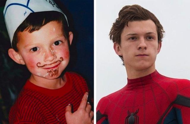 Bất ngờ với hình ảnh tuổi thơ cực đáng yêu của những siêu anh hùng - 6
