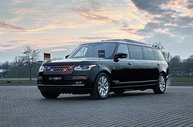 Nhà độ Klassen biến Range Rover SVAutobiography thành pháo đài di động - 1