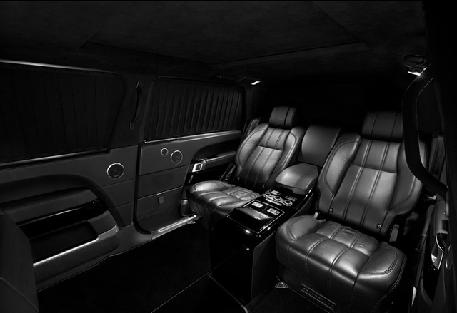 Nhà độ Klassen biến Range Rover SVAutobiography thành pháo đài di động - 10