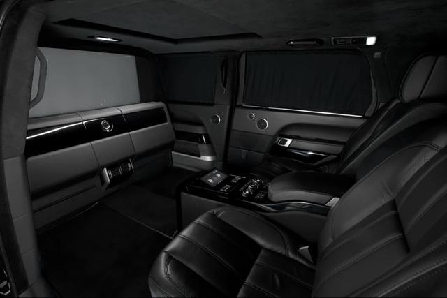 Nhà độ Klassen biến Range Rover SVAutobiography thành pháo đài di động - 14