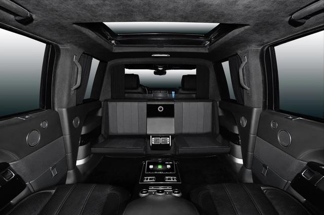 Nhà độ Klassen biến Range Rover SVAutobiography thành pháo đài di động - 21