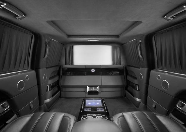 Nhà độ Klassen biến Range Rover SVAutobiography thành pháo đài di động - 7