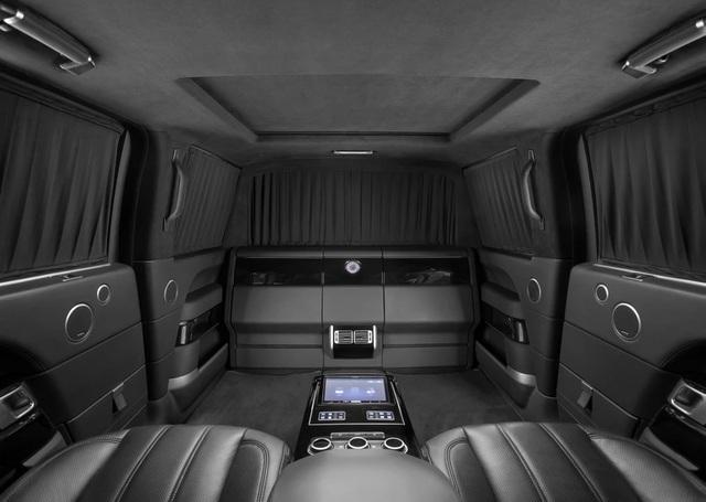Nhà độ Klassen biến Range Rover SVAutobiography thành pháo đài di động - 9