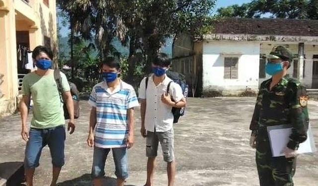 Cách ly 4 người vượt biên trái phép từ Lào về Việt Nam - 3