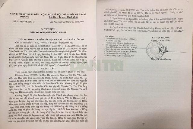 Giám đốc thẩm vụ Hồ Duy Hải: Bị cáo có tội hay không? - 3