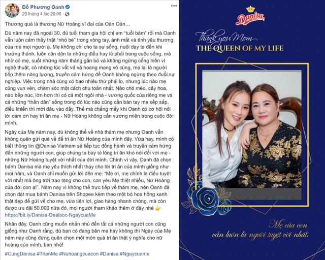 Lắng đọng những câu chuyện tri ân mẹ của sao Việt với món quà từ Danisa nhân Ngày của mẹ - 6
