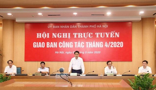 Chủ tịch Hà Nội: Không để doanh nghiệp làm loạn thị trường thiết bị y tế - 1