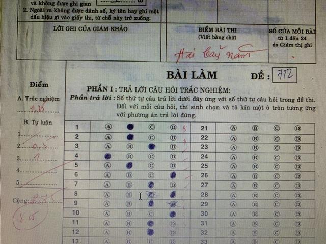 Vĩnh Long: 166 bài thi môn Địa lý lớp 7 được nâng điểm cao bất thường - 2