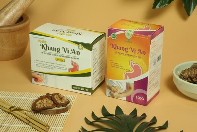 Khang Vị An - Hỗ trợ giảm nguy cơ biến chứng bệnh đau dạ dày - 1