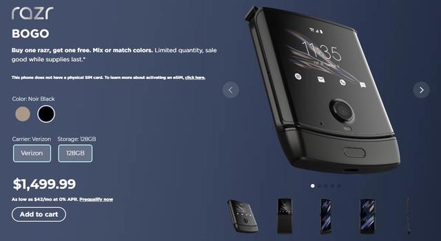 Ế ẩm, Motorola tung khuyến mãi mua 1 tặng 1 cho điện thoại nghìn đô - 2