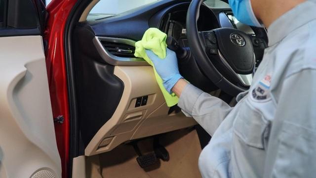 Sau ủng hộ 11,1 tỷ đồng chống dịch, Toyota tăng cường chăm sóc khách hàng - 3