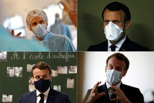 """Tổng thống Pháp """"quảng bá"""" khẩu trang chống Covid-19 - Ảnh minh hoạ 2"""