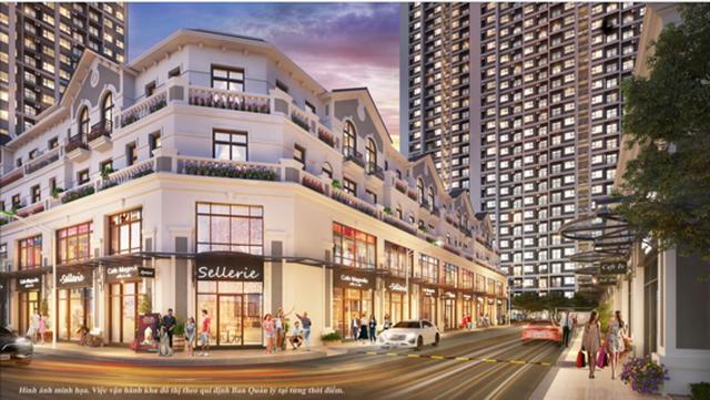 Tiết lộ về downtown hiếm có sắp xuất hiện trong Vinhomes Smart City - 1