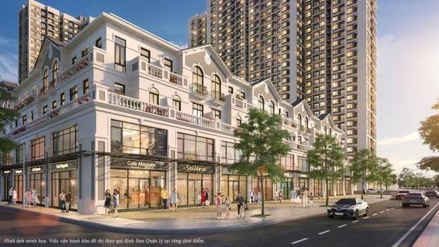 Tiết lộ về downtown hiếm có sắp xuất hiện trong Vinhomes Smart City - 2