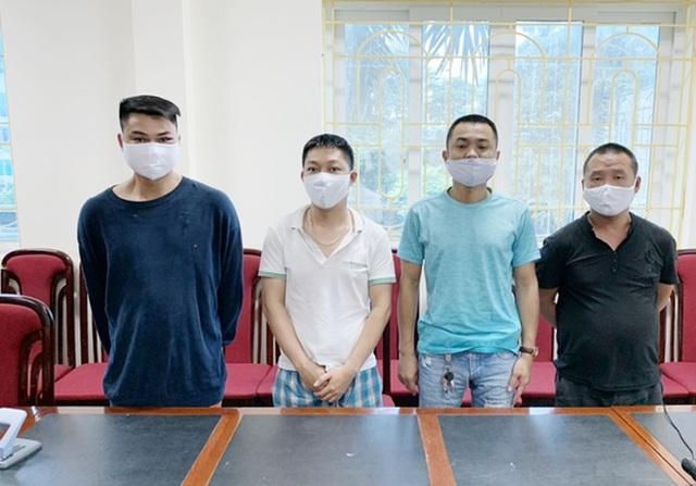 Hà Nội: Bắt nhóm đối tượng tấn công cảnh sát trong quán karaoke - 1