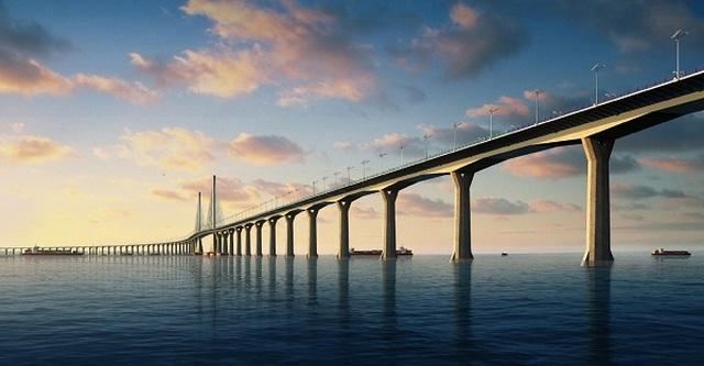 Cầu ở Trung Quốc dập dềnh như sóng biển khi gặp gió mạnh - 2