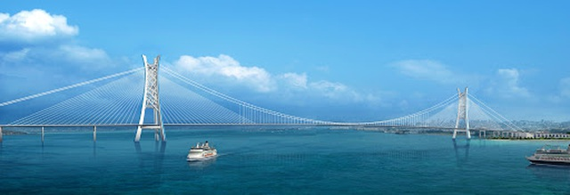 Cầu ở Trung Quốc dập dềnh như sóng biển khi gặp gió mạnh - 3