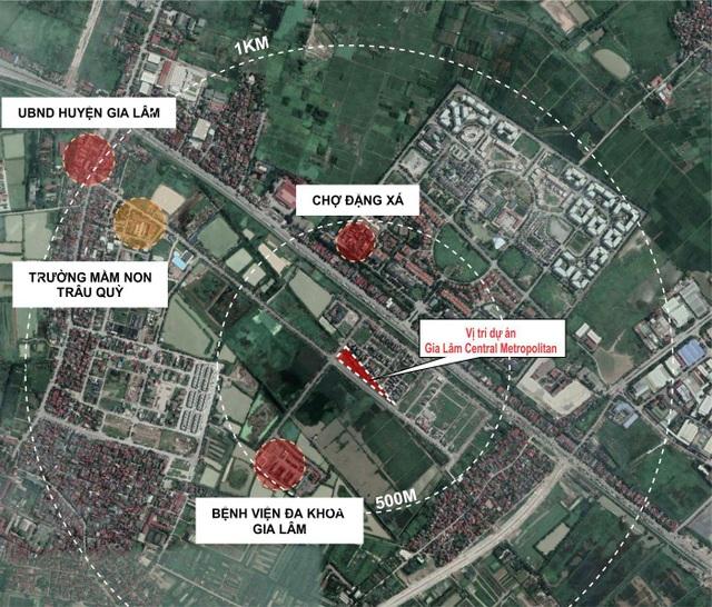 Sắp ra mắt dự án nằm ngay trung tâm hành chính mới Gia Lâm - 2