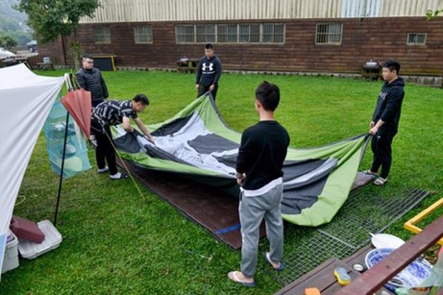 Cắm trại chiếm ưu thế tại Đài Loan thời đại dịch - 1