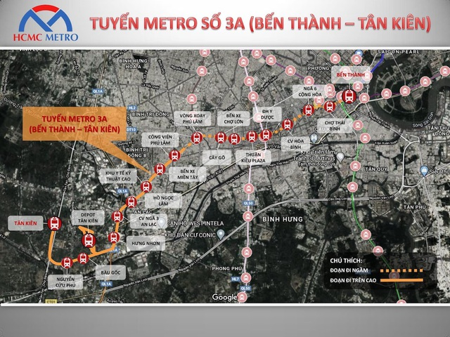 TPHCM đề xuất làm tuyến đường sắt đô thị huyết mạch 68.000 tỷ đồng - 1